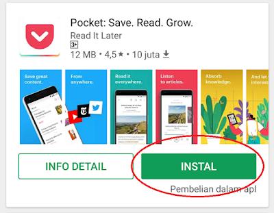 Baca Artikel Offline di Android