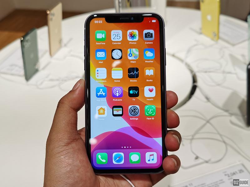 6.1-inch screen