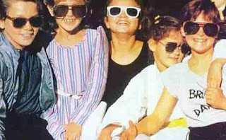 Joaquin Phoenix With Siblings