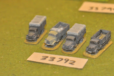 10mm WW2 / german - 4 trucks - vehicles (33792) picture 2