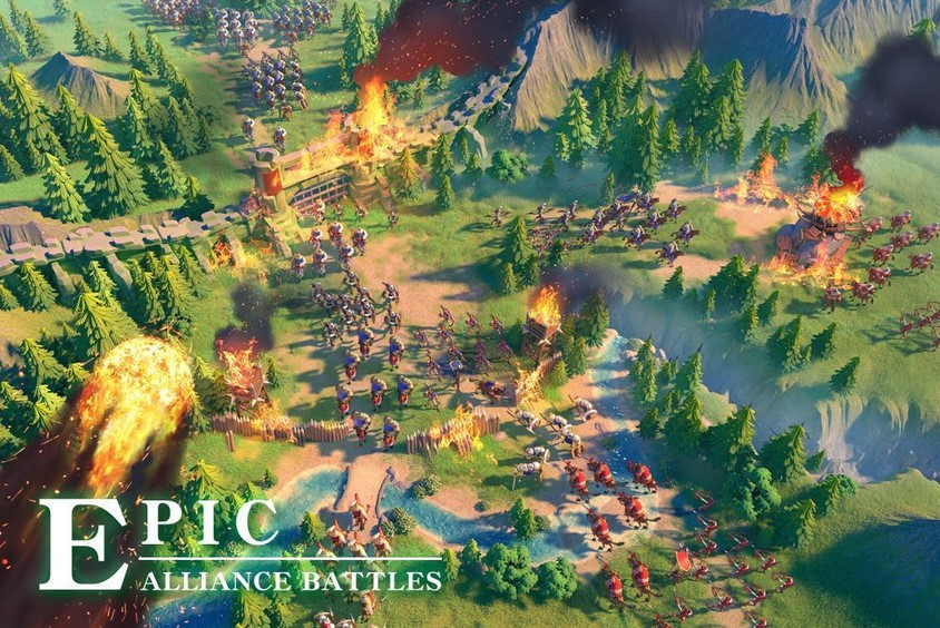 [FREE] Download Rise of Kingdoms Lost Crusade for Android