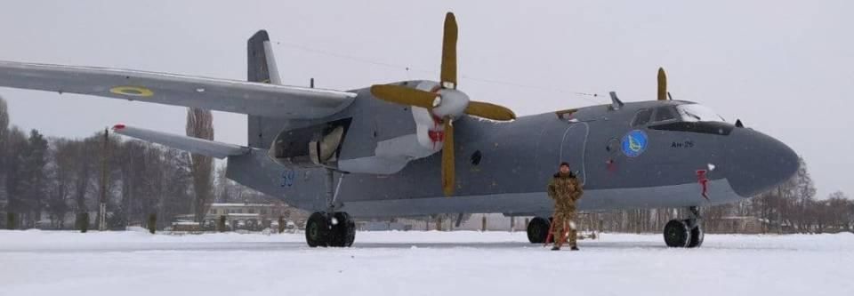 Військові науковці отримали Ан-26 на якому випробують десяток парашутних систем для ЗСУ