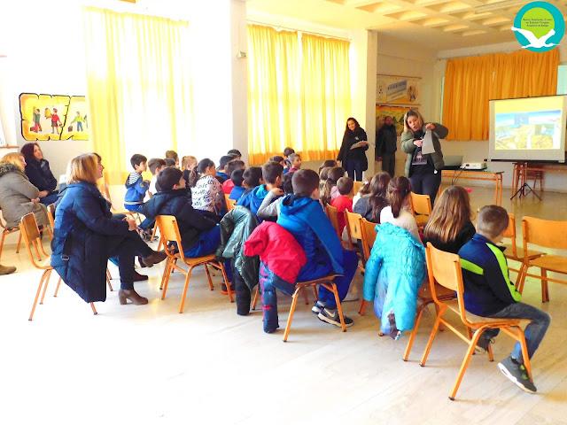 Θεσπρωτία: O Φορέας Διαχείρισης βρέθηκε στο Δημοτικό σχολείο Παραποτάμου