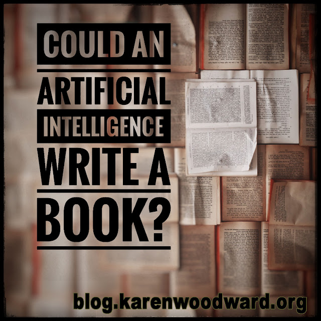 Could an Artificial Intelligence Write a Book?