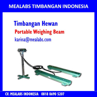 Jual Timbangan Hewan Portable weighing beam mealabs timbangan indonesia