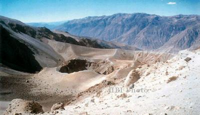 Letusan Gunung Huaynaputina 19 Februari 1600 Peru