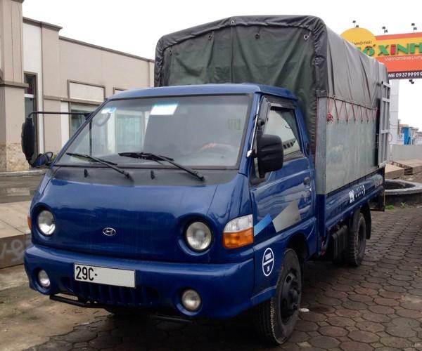 Xe tải Hyundai 1tấn25 cũ đời 2009
