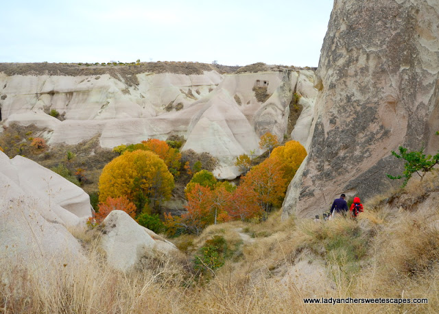hike at Kings Valley Cappadocia