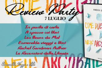 Review party: Come due gocce nell'arcobaleno di Amber Smith