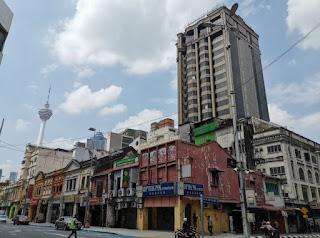 Barrio Chino o China Town de Kuala Lumpur.
