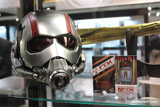 Ant Man helmet with matchbox Ant Man figure