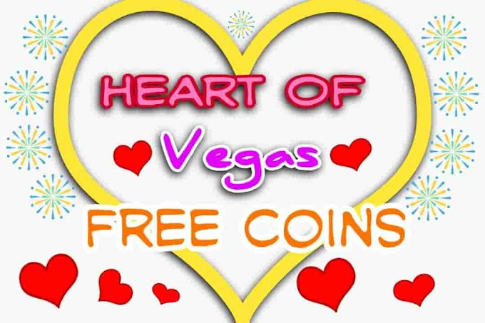 Heart of Vegas Free Coins - Daily Slots Freebies Links