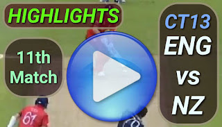 ENG vs NZ 11th Match