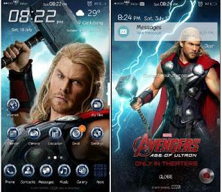 Tema Thor untuk Samsung J2