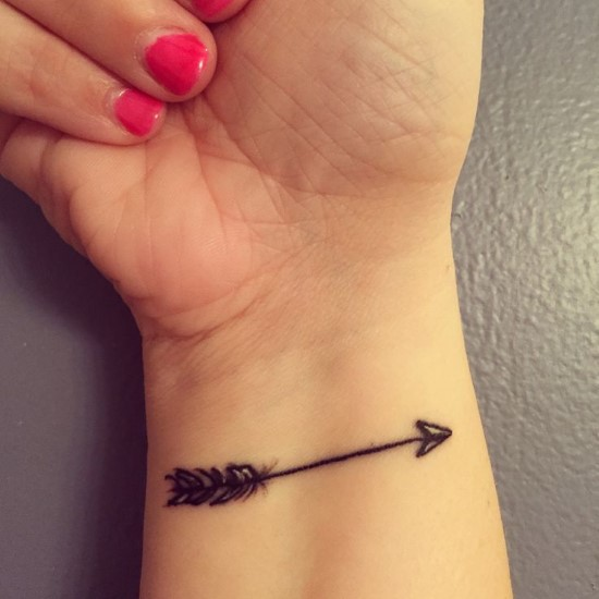 Tatuagens de flechas