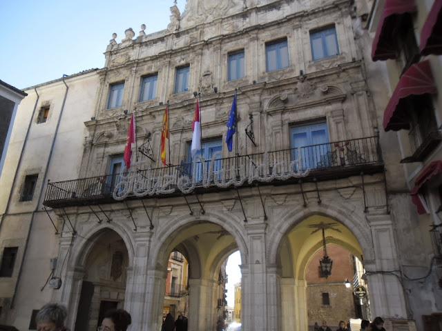 El ayuntamiento de Cuenca