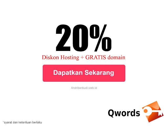 Terbaru Kode Voucher Hosting Indonesia Potongan Harga Diskon Menarik Promosi 2020 Qwords.com