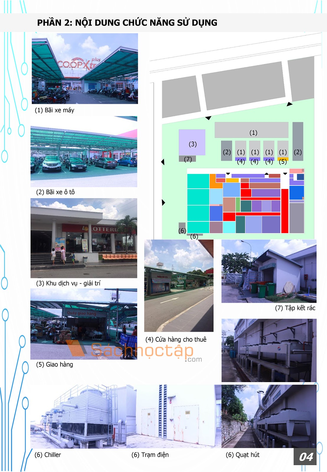 Chuyên đề kiến trúc 4: Kiến trúc thương mại - Dịch vụ: Siêu thị Co.opxtra Plus Thủ Đức - Preview 5