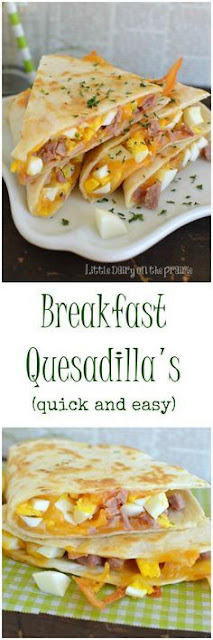 Breakfast Quesadíllas