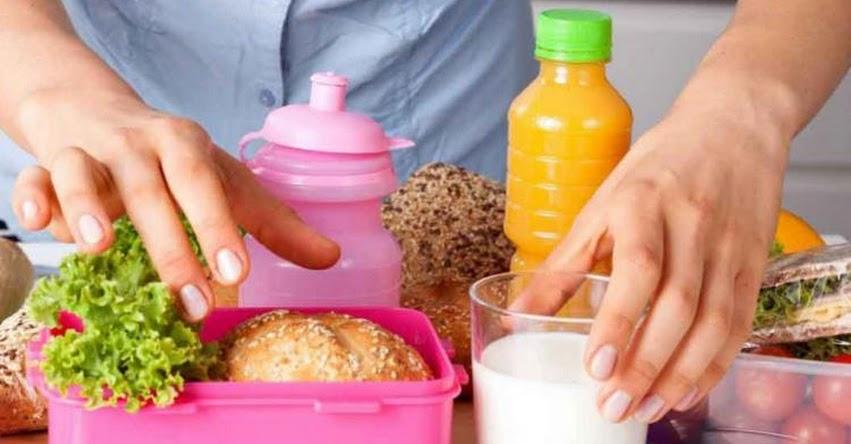 AÑO ESCOLAR 2019: Sigue estos consejos para preparar loncheras saludables
