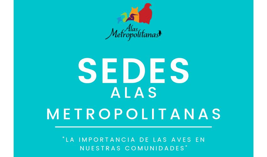Sedes participantes Festival Alas Metropolitanas 2019