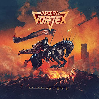 """Ο δίσκος των Arida Vortex """"Riders of Steel"""""""