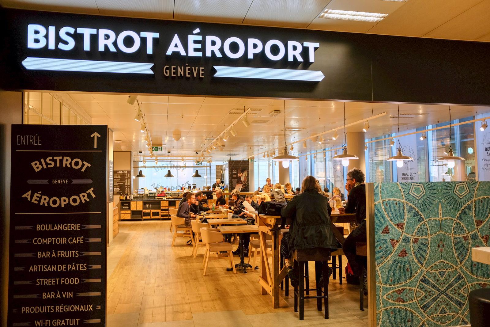 Bistrot Geneve @ Geneva Airport, Seafood Bar @ Oslo Airport & Obwarzanki @ Krakow Airport