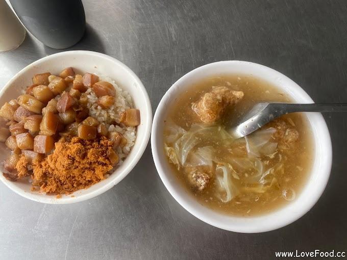 屏東市-民族夜市𩵚魠魚焿-肉燥飯-屏東夜市在地小吃-minzu night market sour fish soup