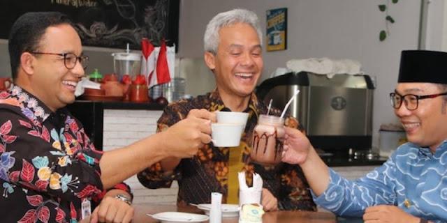 Unsur Gubernur, Hanya Anies Baswedan Dan Ganjar Pranowo Yang Berpeluang Jadi Capres 2024