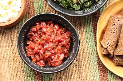 boeuf cru recette ethiopienne