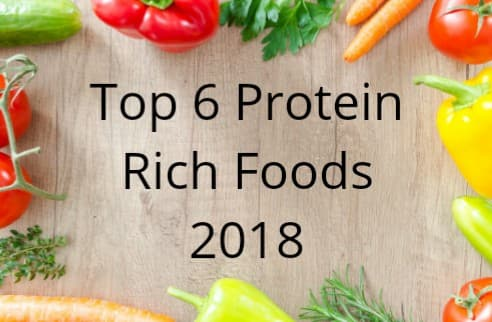 Top 6 Protein Rich Foods 2019