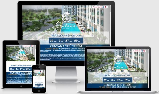 Ladingpage bất động sản chuẩn seo