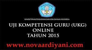 Aplikasi Latihan Uji Kompetensi Guru (UKG) Tahun 2015