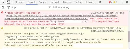 كيفية إصلاح أخطاء المحتوى المختلط Mixed Content في مدونات بلوجر