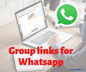 2000+ Groups Link for Whatsapp | Whatsapp Gorups  | Lnks to joinWhatsapp Groups  |  Links Group Whatsapp