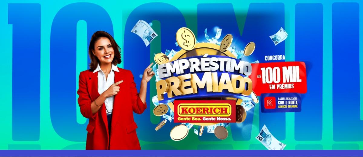 Promoção KOERICH 2021 Empréstimo Premiado