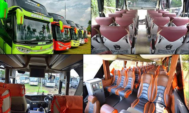 Fasilitas sewa bus Semarang