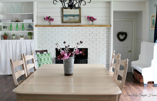 farmhouse fireplace makeover by lovemysimplehome