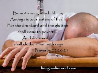 Proverbs 23:20,21