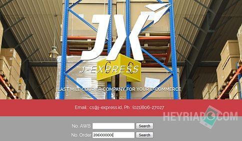 Cara Cek Paket J-Express Dari JD.ID