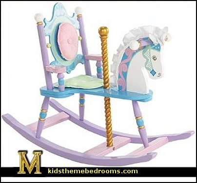 Carousel Rocking Horse  carousel horse themed decorations  carousel theme bedroom ideas - carousel bedroom set - carousel horse theme girls bedrooms - carousel horse decor -  carousel merry go round wall decals - carousel theme baby bedrooms - girls bedrooms theme - carousel horse nursery theme - carousel themed nursery
