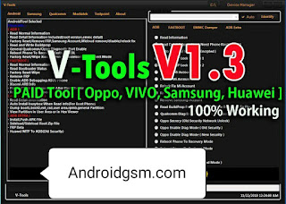 How To Download V-Tools V1.3 PAID Unlock Tool Latest Update 2020 Free Password Download To AndroidGSM