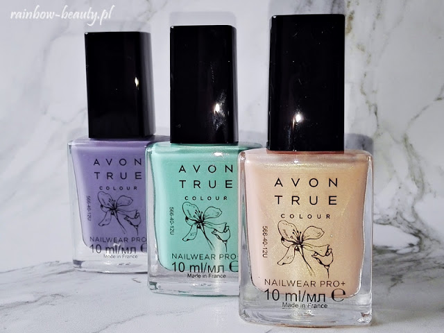 Avon True Colour Nailwear Pro Endless Sky, Purple Oasis, Tranquility