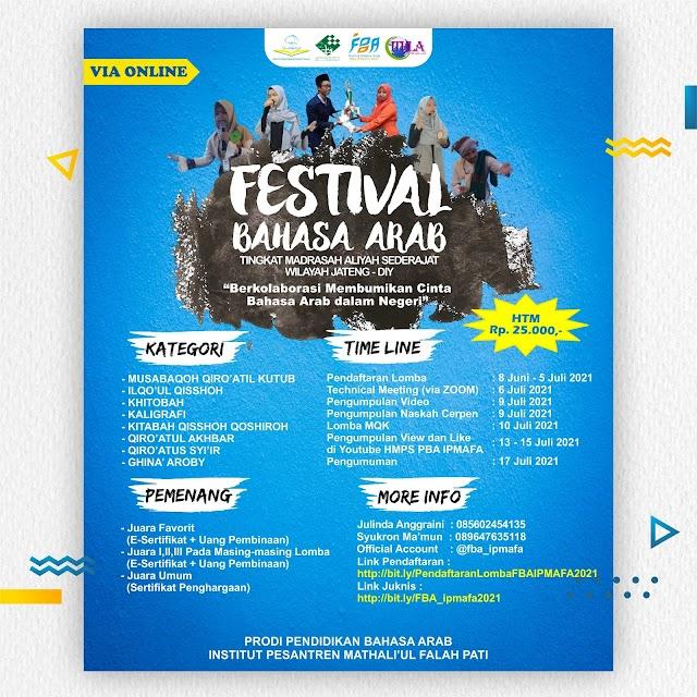 Tingkatkan Kualitas Berbahasa Arab Melalui Festival Bahasa Arab