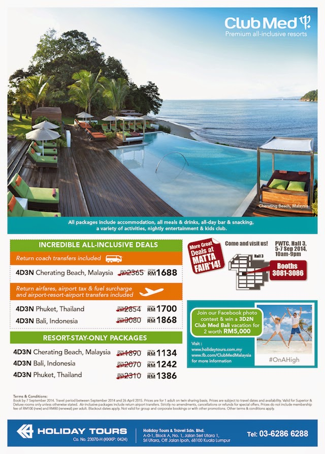 Exclusive deals from Club Med