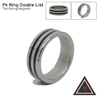 cincin Pk Ring Double List