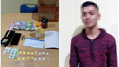 Ditpolairud Polda Banten, Berhasil Amankan Pengedar Obat Obatan Berbahaya