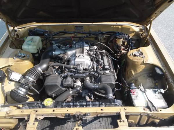 Daily Turismo: 1UZFE V8 Swap: 1980 Toyota Cressida Woody Wagon
