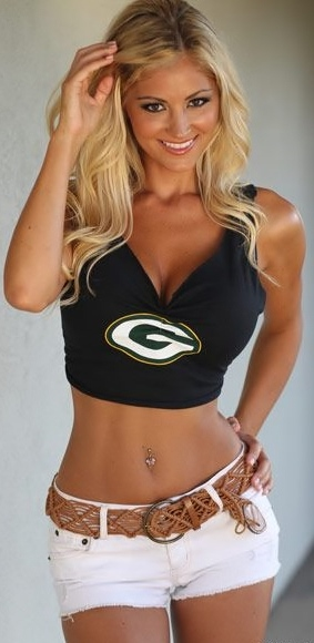 Beauty Babes 2013 Green Bay Packers Nfl Season Sexy Babe -1916