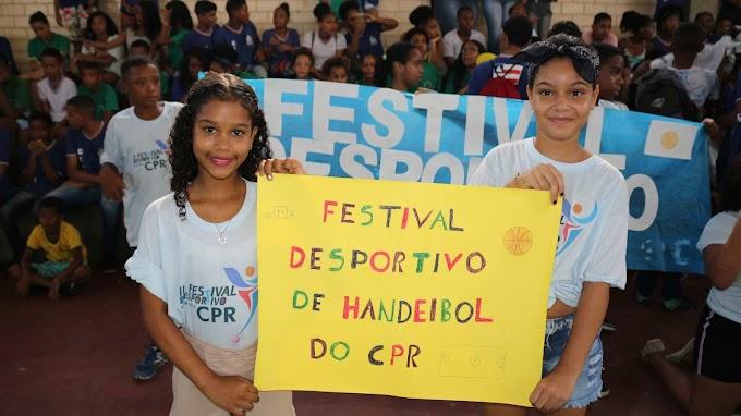 Jogos Estudantis da Rede Pública mobilizam estudantes da capital e do interior